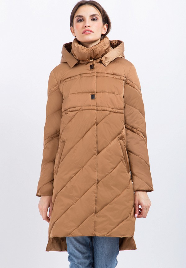 Купить Куртка утепленная Finn Flare, mp002xw1axi0, коричневый, Осень-зима 2017/2018