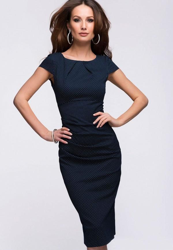 Купить Платье D&M by 1001 dress, mp002xw1axiu, синий, Осень-зима 2018/2019