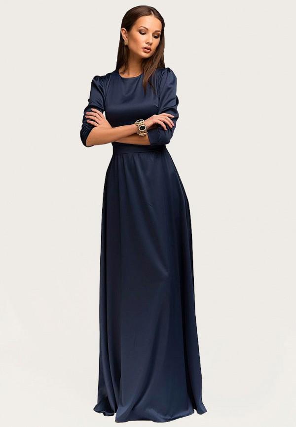 Купить Платье D&M by 1001 dress, mp002xw1axiv, синий, Осень-зима 2018/2019