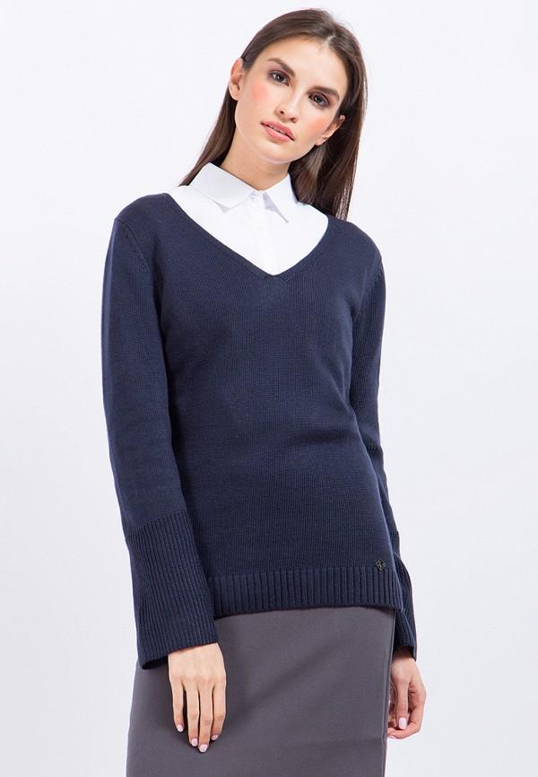 Купить Пуловер Finn Flare, MP002XW1AXP5, синий, Осень-зима 2017/2018