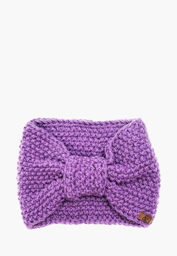 Купить Повязка Sava Mari, MP002XW1AXX6, фиолетовый, Осень-зима 2017/2018