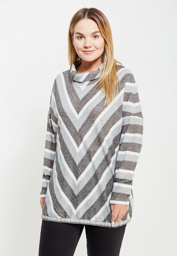 Свитер Авантюра Plus Size Fashion Авантюра Plus Size Fashion MP002XW1AXZV plus size cherry crew neck sweater