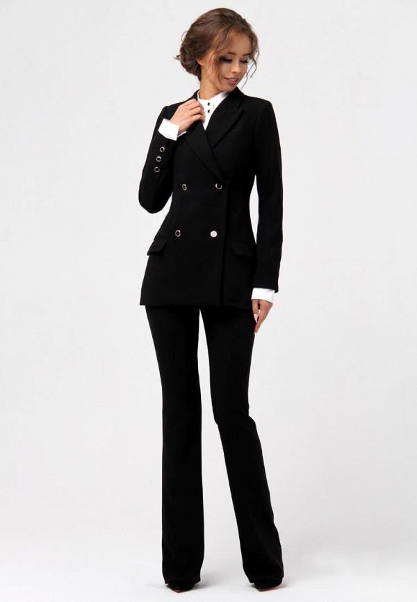 женский костюм anushka by anna pavlova, черный