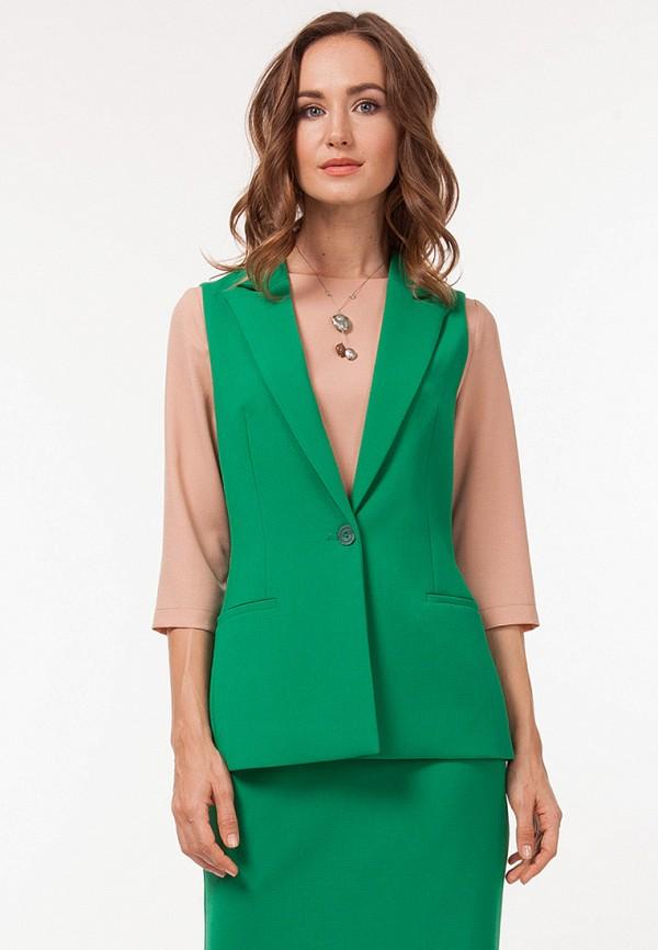 женский жилет vladi collection, зеленый