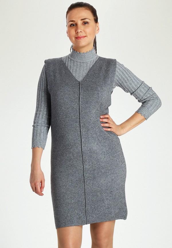 Купить Платье Marissimo, mp002xw1azl1, серый, Осень-зима 2018/2019
