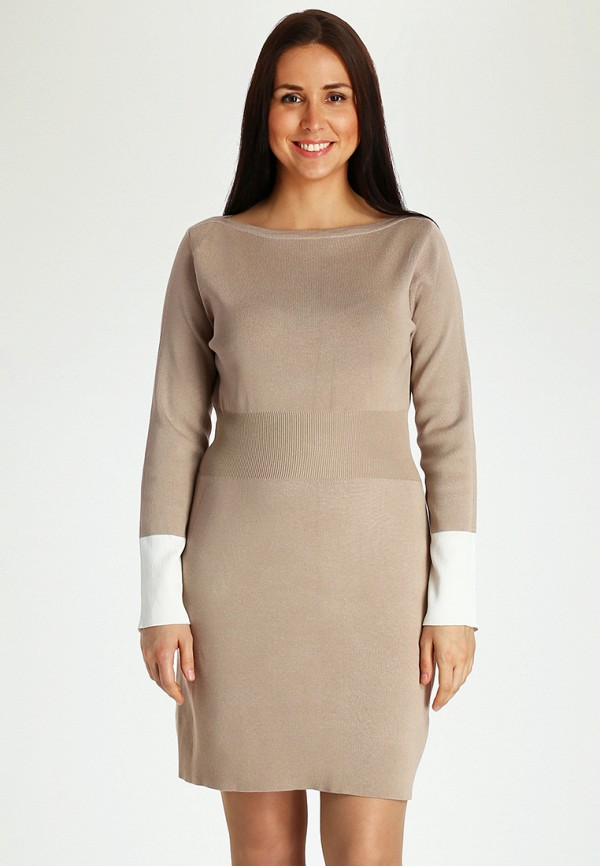 Купить Платье Marissimo, MP002XW1AZL2, бежевый, Осень-зима 2017/2018