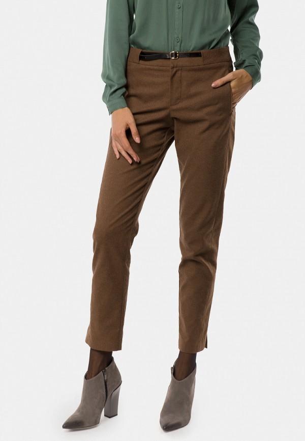 женские прямые брюки mr520, коричневые