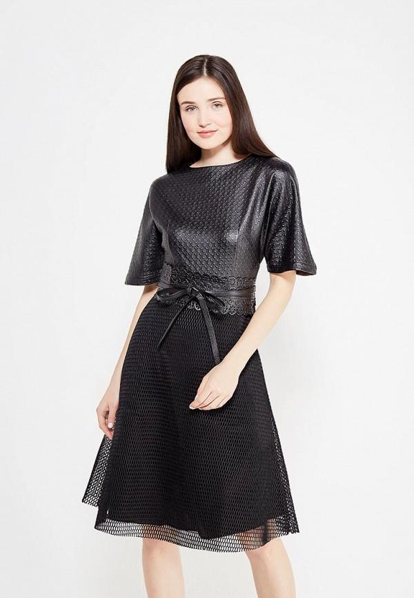 Платье Kristina Kapitanaki, Данелия, MP002XW1B1IR, черный, Осень-зима 2017/2018  - купить со скидкой