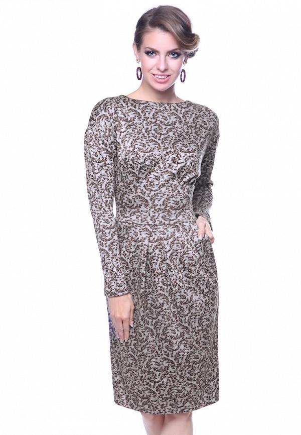 женское платье olivegrey, бежевое