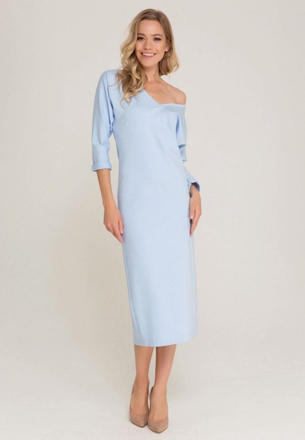 Платье Lezzarine, MP002XW1B2XM, голубой, Осень-зима 2017/2018  - купить со скидкой