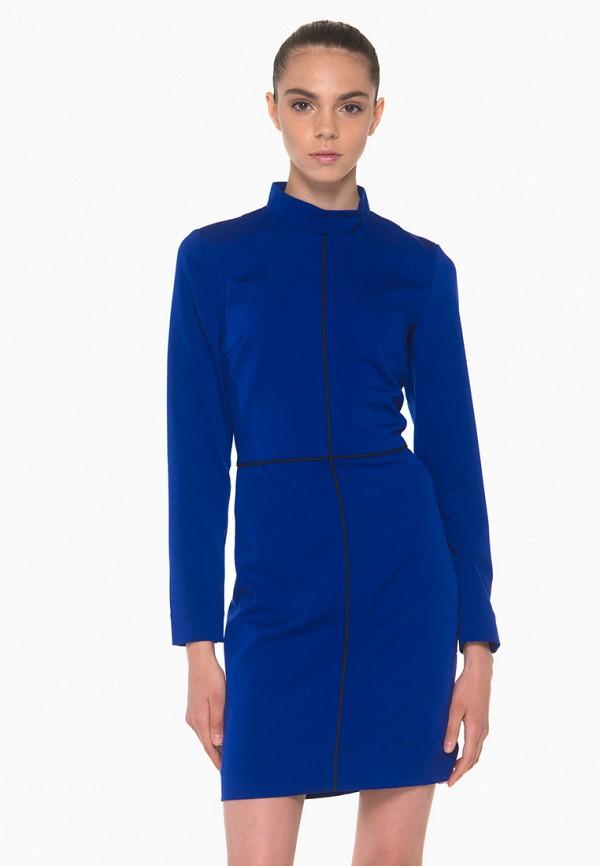 женское повседневные платье nai lu-na by anastasia ivanova, синее