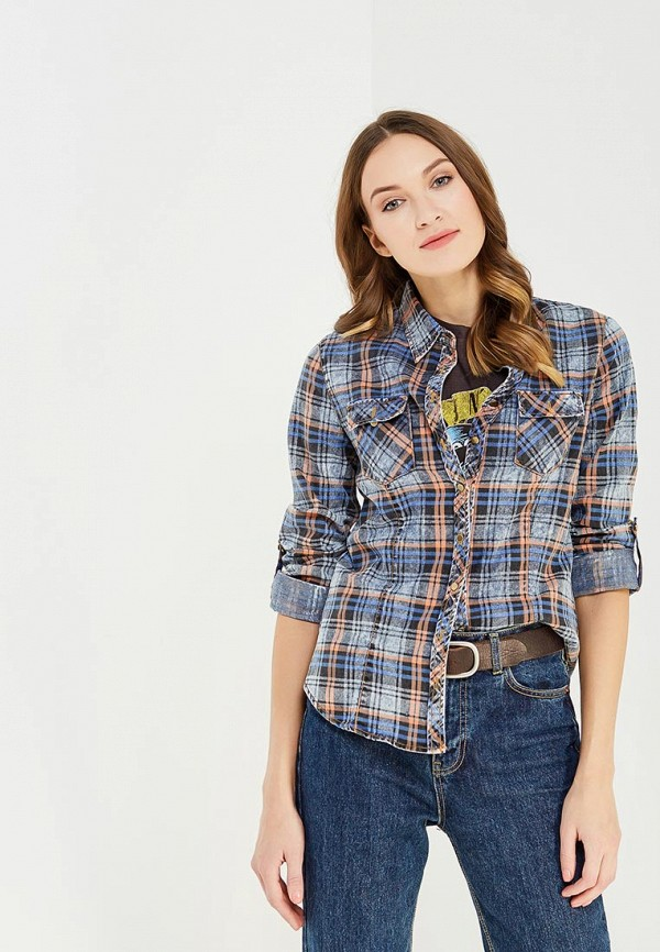 Купить Рубашка Marimay, mp002xw1b32n, синий, Осень-зима 2017/2018