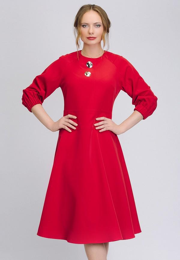 женское повседневные платье cavo, красное