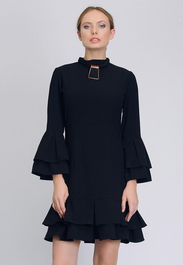 Купить Платье Cavo, MP002XW1B361, черный, Осень-зима 2017/2018