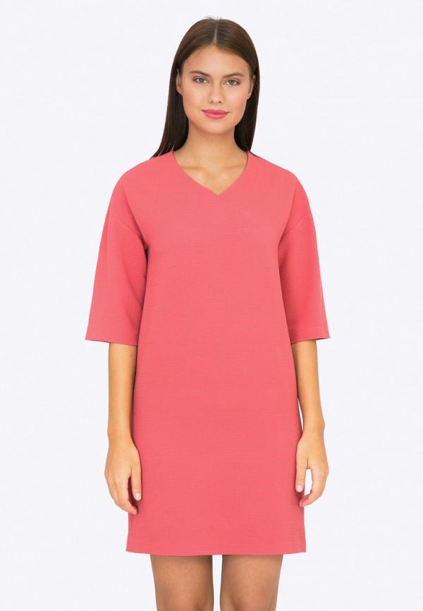 Купить Платье Emka, mp002xw1b3az, коралловый, Осень-зима 2017/2018