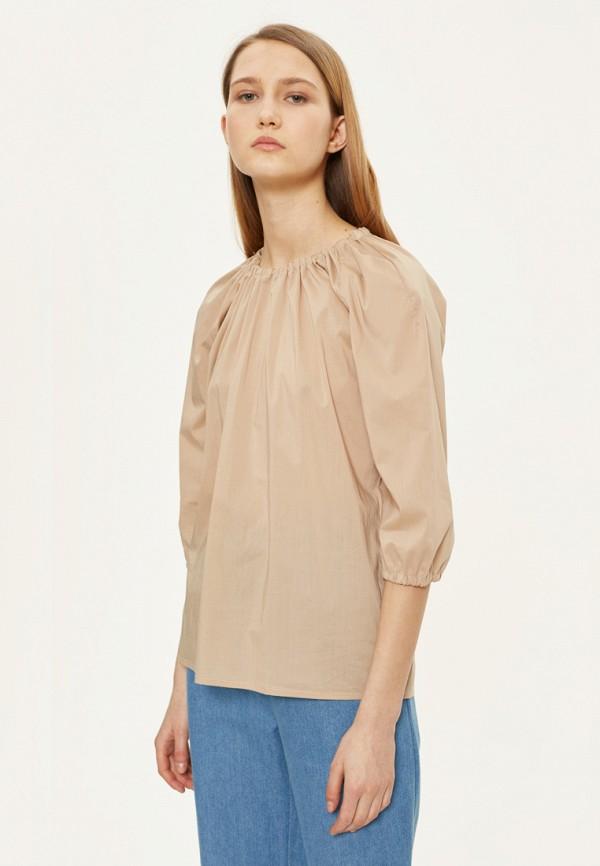 женская блузка base forms, бежевая