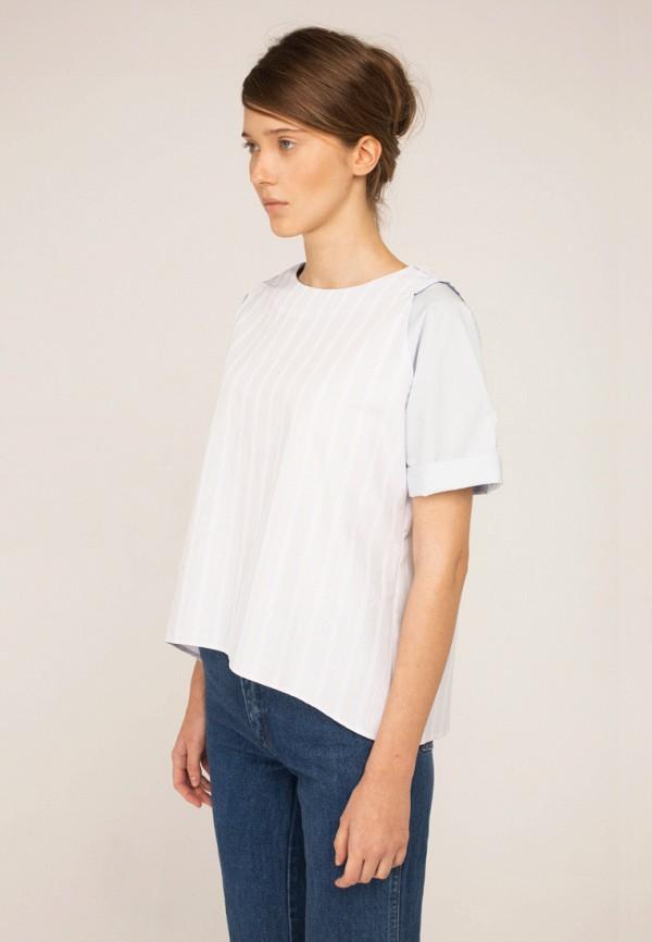 женская блузка base forms, голубая