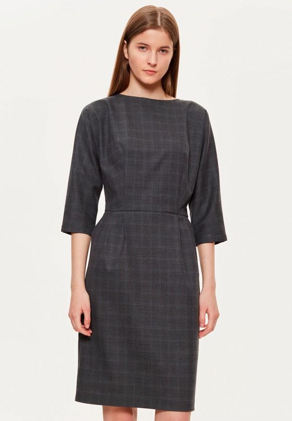 женское повседневные платье base forms, серое