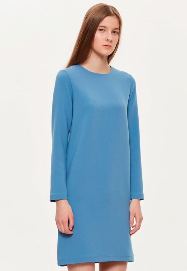 женское повседневные платье base forms, голубое