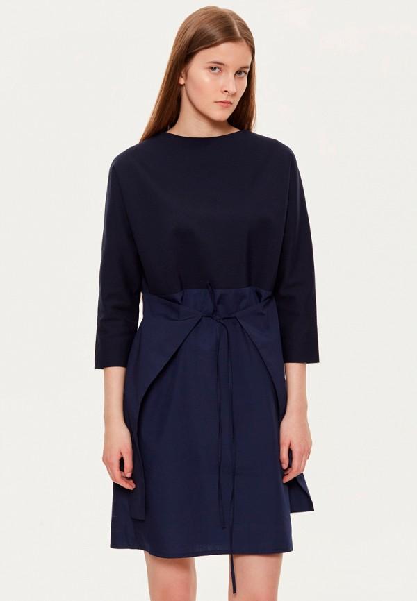 женское повседневные платье base forms, синее
