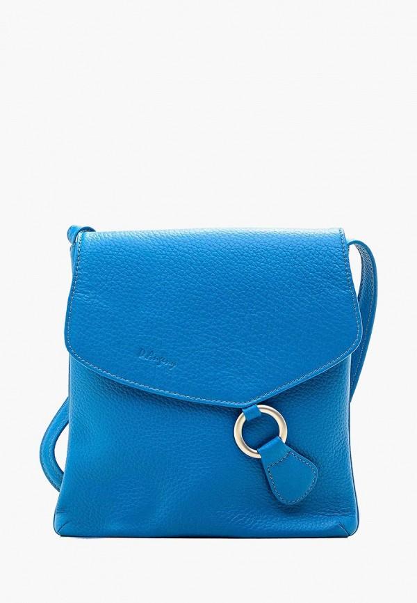женская сумка d.angeny, голубая
