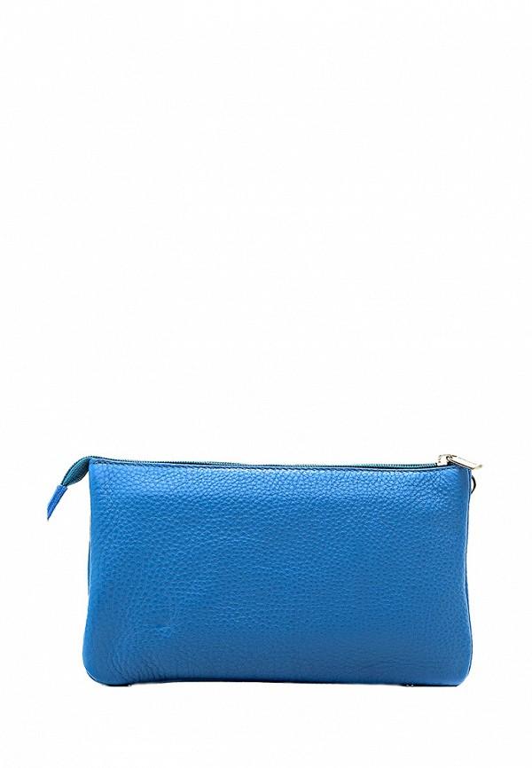женский клатч duffy, голубой