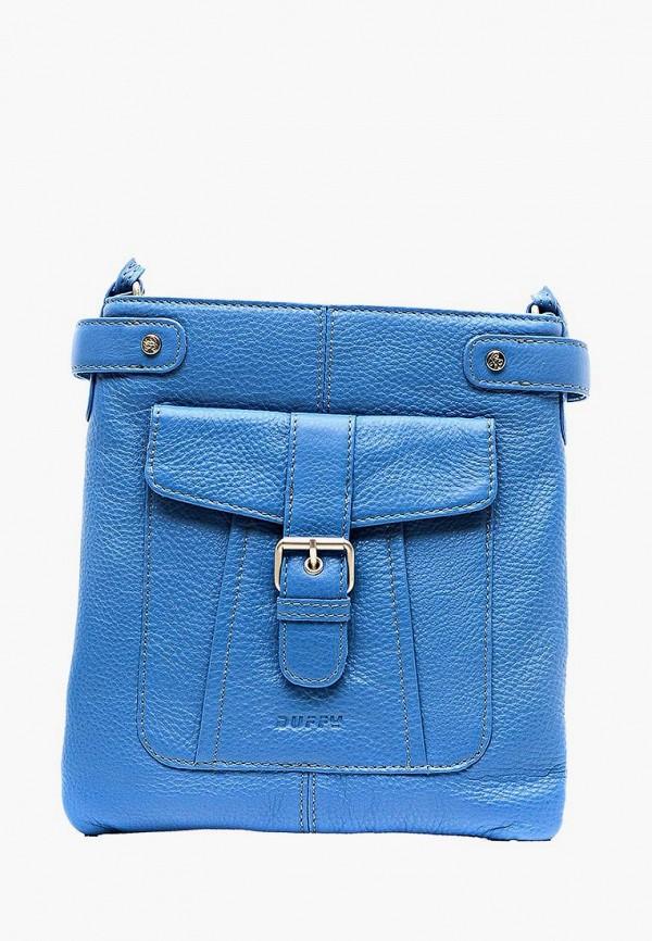 женская сумка duffy, голубая