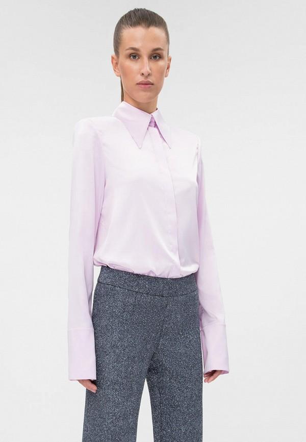 женская блузка dafna may, фиолетовая