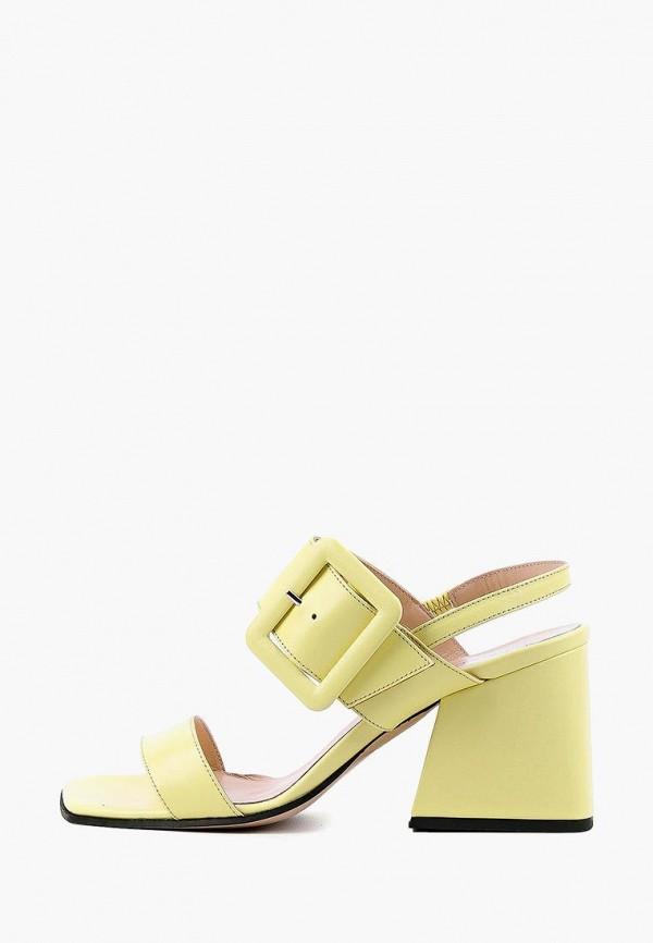 женские босоножки leberdes, желтые