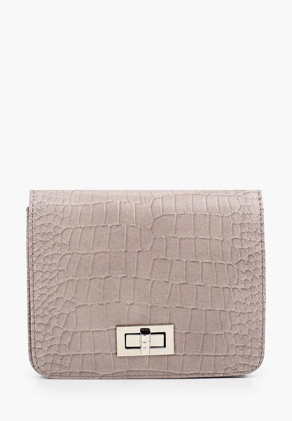 женская поясные сумка franchesco mariscotti, бежевая