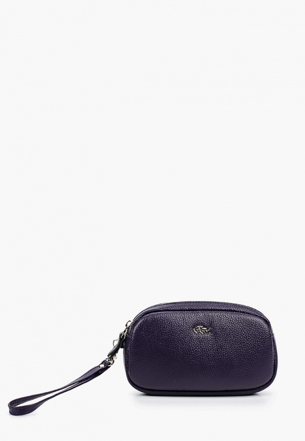 женская косметичка franchesco mariscotti, фиолетовая