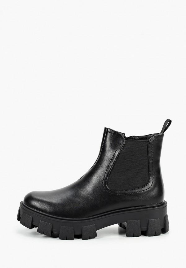 женские высокие ботинки vitacci, черные