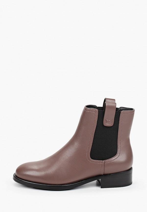 женские ботинки-челси vitacci, коричневые