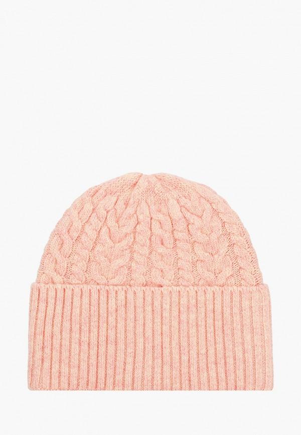 женская шапка vitacci, розовая