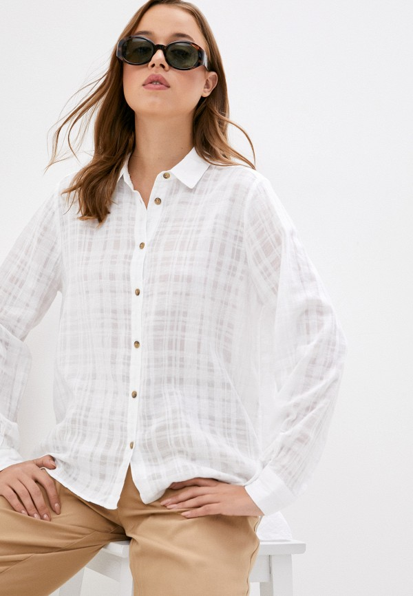Рубашка Mavi белого цвета