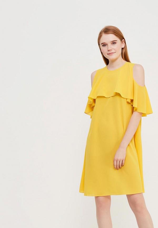 Купить Платье Anastasya Barsukova, ABDress, MP002XW1C5Q6, желтый, Весна-лето 2018