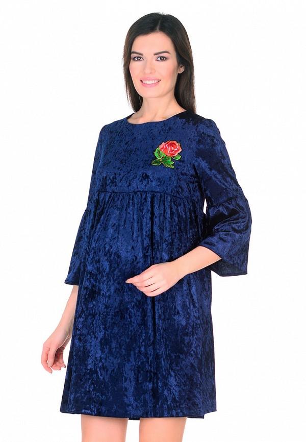 Платье Мама Мила цвет синий