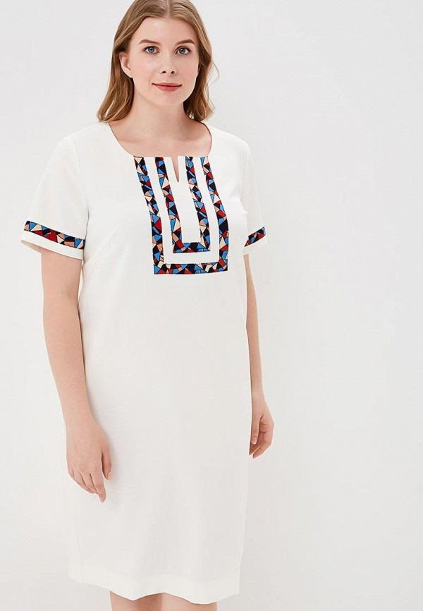 Купить Платье Balsako, Аксинья, mp002xw1c88o, белый, Весна-лето 2018