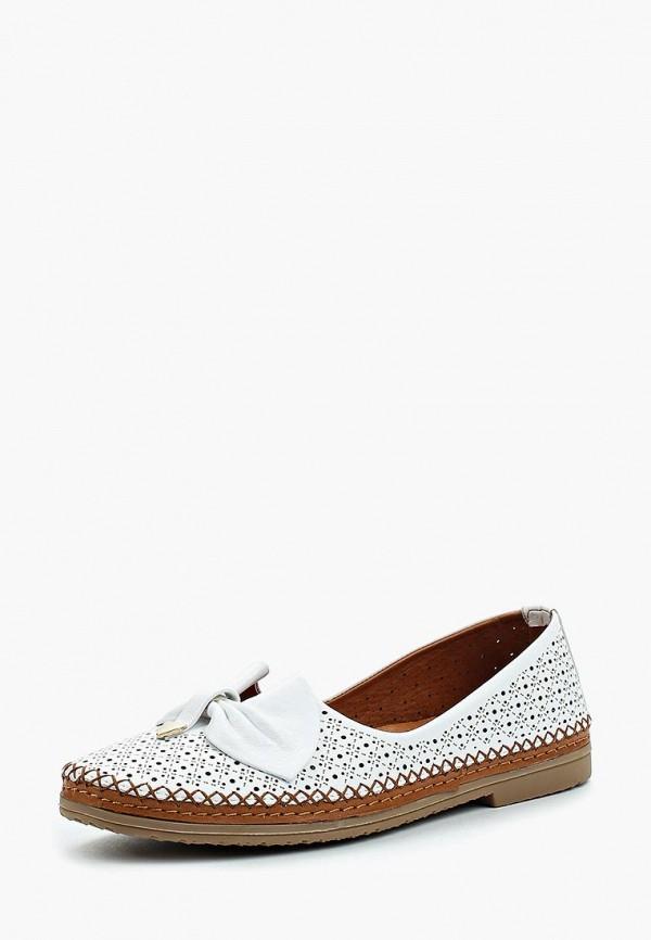 Туфли Pierre Cardin, MP002XW1C8N1, белый, Весна-лето 2018  - купить со скидкой