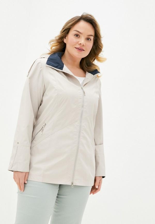 женская легкие куртка le monique, бежевая