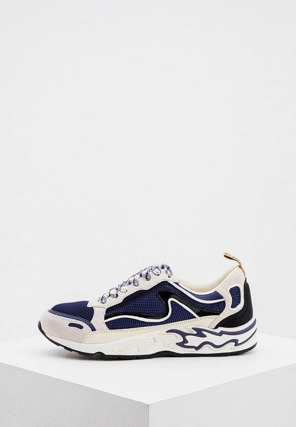 женские кроссовки sandro, синие