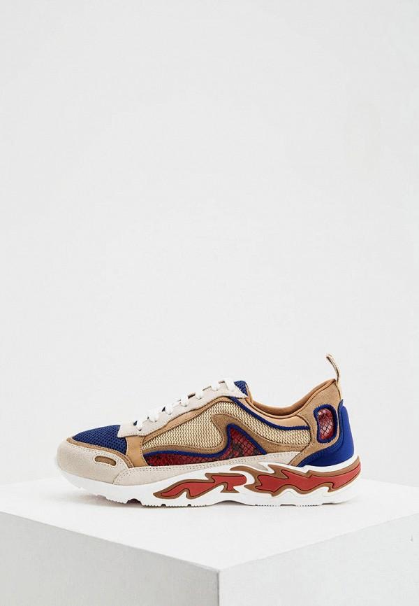 женские кроссовки sandro, разноцветные