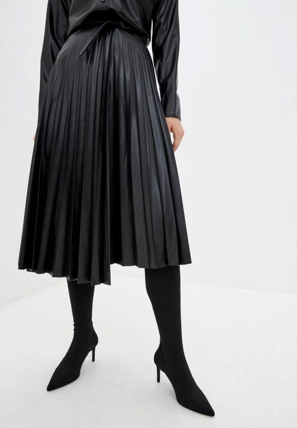 женская юбка jhiva, черная