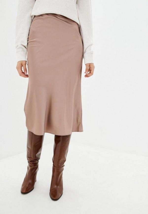 женская зауженные юбка jhiva, бежевая