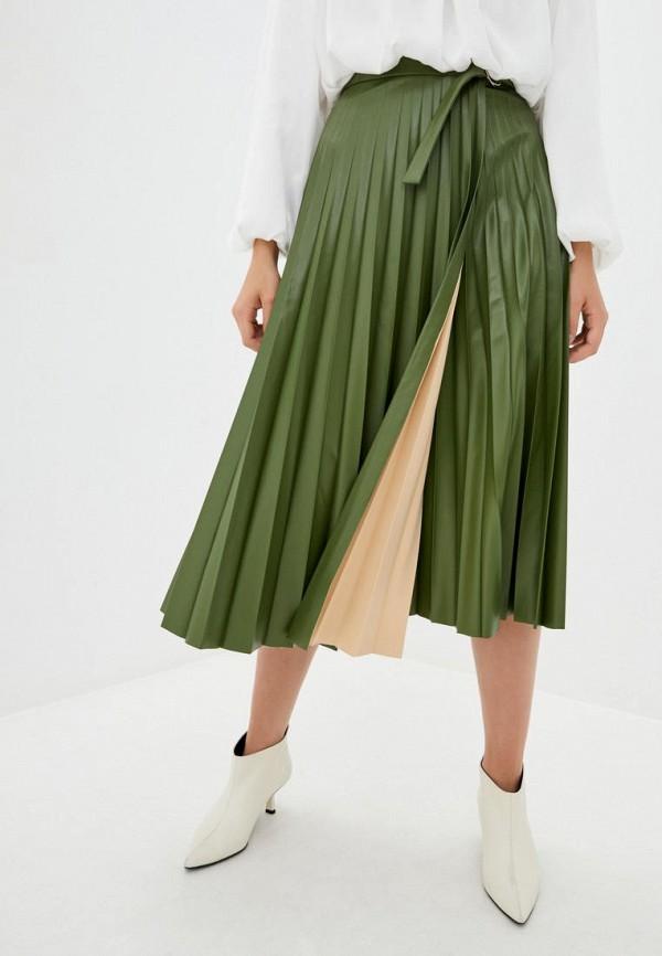 женская юбка jhiva, зеленая