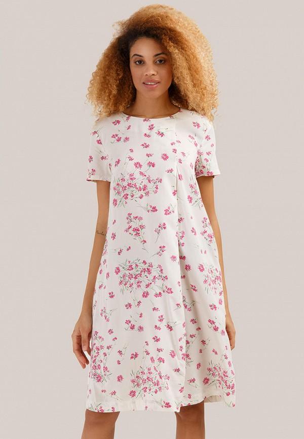 женское повседневные платье finn flare, белое