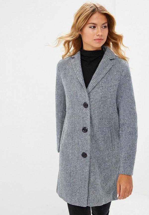 женское пальто la reine blanche, синее