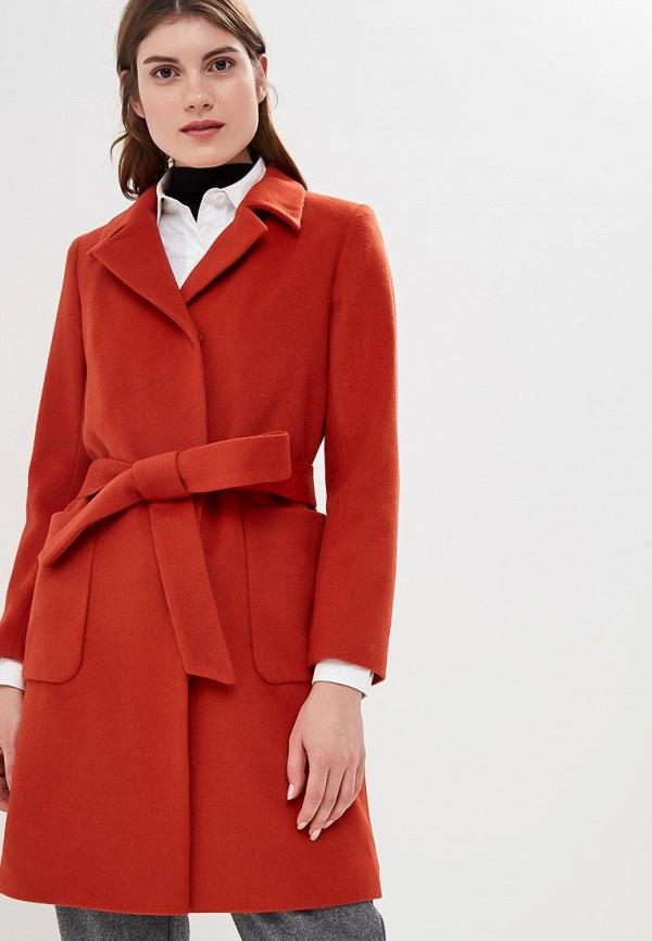 женское пальто la reine blanche, оранжевое