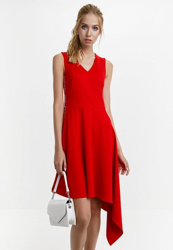 женское вечерние платье audrey right, красное