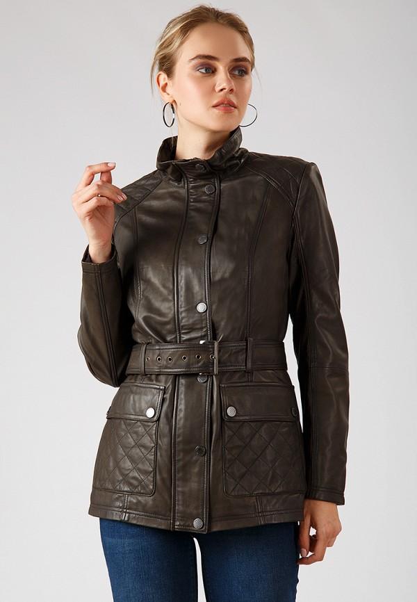 Купить Куртка кожаная Finn Flare, MP002XW1CRWO, хаки, Осень-зима 2018/2019